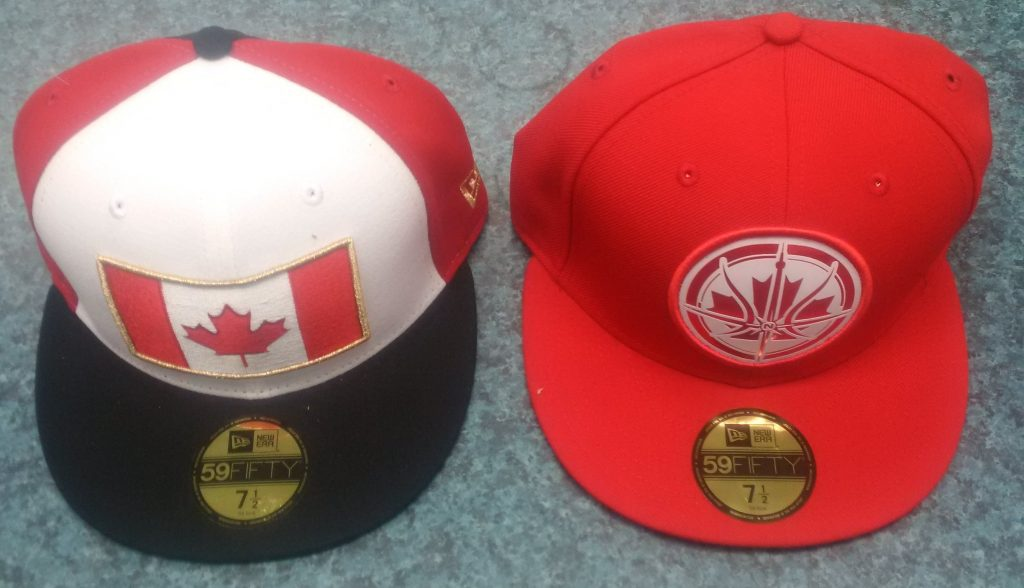 Canada 2 red hats
