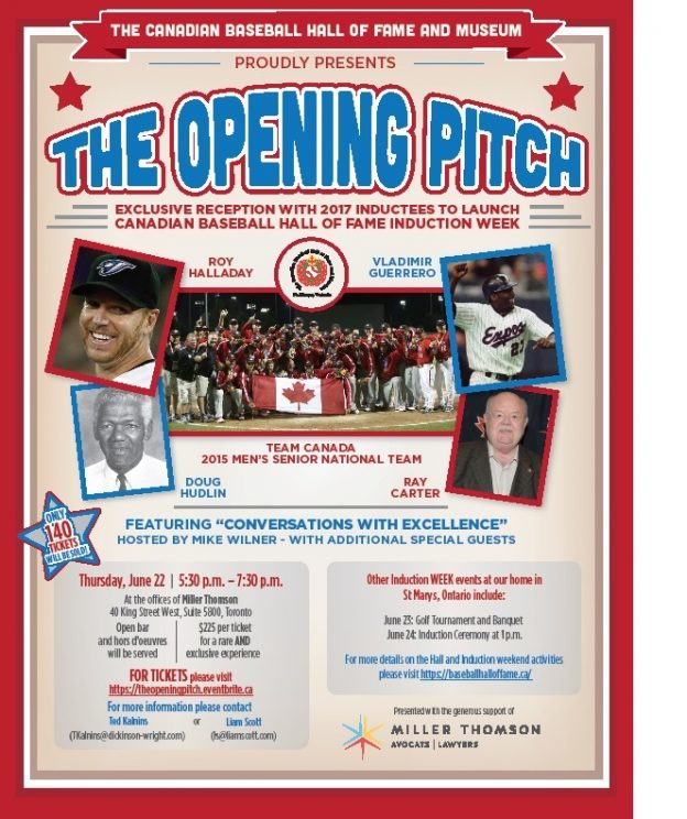 Opening Pitch poster