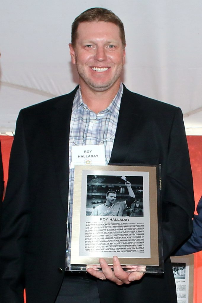 Roy Halladay plaque